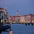 Venice Blue Hour 2 by Heiko Koehrer-Wagner