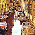 Venice Canal by David Lloyd Glover