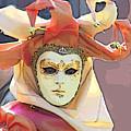 Venice- Carnivalmask by Italian Art