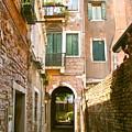 Venice- Venezia-calle Veneziana by Italian Art