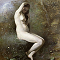 Venus Bathing by Jean Baptiste Camille Corot