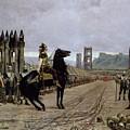 Vercingetorix Before Caesar by Henri Paul Motte