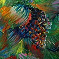 Vibrant Grapes by Nadine Rippelmeyer