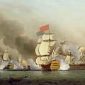 Vice Admiral Sir George Anson's by Samuel Scott