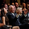 Vice President Joe Biden Flanked by Everett