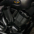 Victory Motorcycle by Diane E Berry