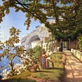 View Of Capri by Theodore Aligny