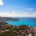 View Of Charlotte Amalie St Thomas Us Virgin Islands by George Oze