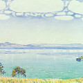 View Of Lake Leman From Chexbres by Ferdinand Hodler