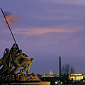 View Of The Iwo Jima Monument by Kenneth Garrett