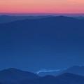 View Towards Fontana Lake At Sunset by Andrew Soundarajan
