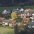 Village Of Residential Homes In Germany by Greg Dale