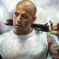 Vin Diesel by Ylli Haruni