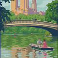 Vintage Central Park by Mitch Frey