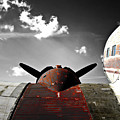 Vintage Dc-3 Aircraft  by Steven  Digman