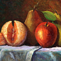 Vintage-fruit by Linda Hiller