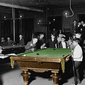 Vintage Pool Hall by Andrew Fare