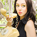 Vintage Telephone by Jorgo Photography - Wall Art Gallery