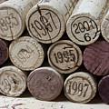 Vintage Wine Corks by Frank Tschakert
