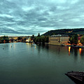 Vltava View 2 by Madeline Ellis