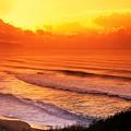 Waimea Bay Sunset by Vince Cavataio - Printscapes