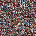 Wall Of Chewing Gum Seattle by Garry Gay