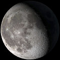 Waning Gibbous Moon by Stocktrek Images