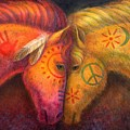 War Horse And Peace Horse by Sue Halstenberg