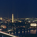 Washington D.c. At Night, Seen by Kenneth Garrett