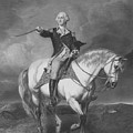 Washington Receiving A Salute At Trenton by War Is Hell Store