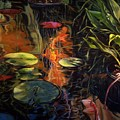 Water Garden Series A by Patricia Reed
