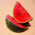 Watermelon Study by Lucyna A M Green