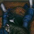 We 3 Nap With My Cats by Carol Wilson