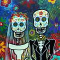 Wedding Muertos by Pristine Cartera Turkus
