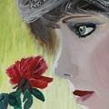 Wedding Rose by J Bauer