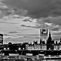 Westminster Black And White by Dawn OConnor