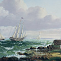Whalers Coming Home by American School