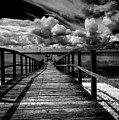 Wharf At Southend On Sea by Avalon Fine Art Photography