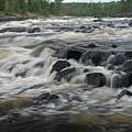 Wheelbarrow Falls by Larry Ricker