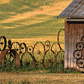 Wheels Of The Palouse by Sandra Bronstein