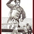 Where Have You Gone Joe Dimaggio  by Ray Tapajna