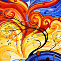 Whirlwind By Madart by Megan Duncanson