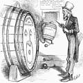 Whiskey Ring Cartoon, 1876 by Granger