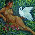 White Bird by Anna  Duyunova