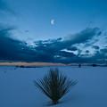 White Sands Moonrise by Steve Gadomski