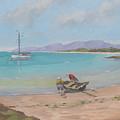 Whitsunday Sailors by Murray McLeod
