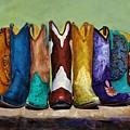 Why Real Men Want To Be Cowboys by Frances Marino