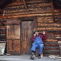Wilderness Cabin Alaska by Jennifer Crites