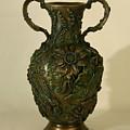 Wildflower Vase Balsamroot Side by Dawn Senior-Trask