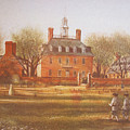 Williamsburg Governors Palace by Charles Roy Smith